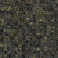 Black golden plain tiles Stock Images