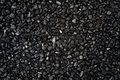 Black granular texture of granulat for abstract background Royalty Free Stock Image