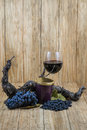 Black grapes, vine, jam and drink Royalty Free Stock Photo