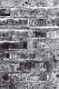 Black and grey brick wall texture background Royalty Free Stock Photography