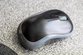 Black and grey computer mouse Royalty Free Stock Photo