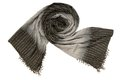 A black and grey scarf Stock Images