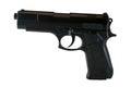 Picture : Black gun  the board