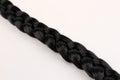 Black hair braid Royalty Free Stock Photo