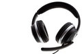 Black headset Royalty Free Stock Photo