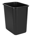 Black Indoor Waste Bin Royalty Free Stock Images