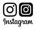 Black Instagram new logo and icon