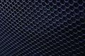Black iron speaker grid texture industrial background Stock Image