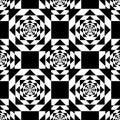 Black Kaleidoscope Mirage On W...