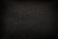 Black kevlar stitching pattern background Stock Photography