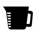 Black kitchen utensil graphic design
