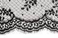 Black lace Royalty Free Stock Photo