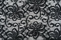 Black  lace tracery Royalty Free Stock Images