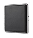 Black leather case Royalty Free Stock Photo