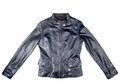 Black leather jacket Royalty Free Stock Photo