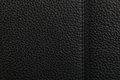 Black leather texture background natural Stock Photo