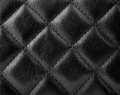Black leather texture upholstery with great detail Stock Photos