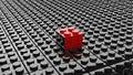 Black Lego Background