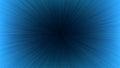Black Light Speed Line Burst Ray on Blue Background Royalty Free Stock Photo