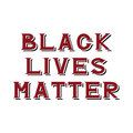 Black lives matter Royalty Free Stock Photo