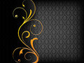 Black Luxury Background Royalty Free Stock Images