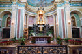 Black Madonna in the church, Sicily Royalty Free Stock Image