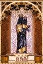 Black Madonna figure Royalty Free Stock Photo