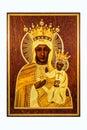The Black Madonna. Royalty Free Stock Photo