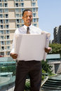 Black Male Architect Royalty Free Stock Photography