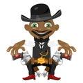 Black man, cartoon fictional character Royalty Free Stock Photo