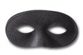 Black mask with soft shadow Royalty Free Stock Photo