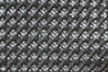 Black matte basket weave texture used in the fashion and textile industry Stock Photos