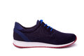 Black mens sport shoes isolate
