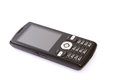 Black mobile phone Royalty Free Stock Photo
