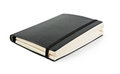 Black moleskine Royalty Free Stock Image