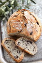 Black Olives Bread Royalty Free Stock Image