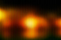 Black orange yellow abstract with light lines blurred background