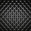 Black padding background huge seamless texture Stock Photography