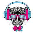 Black Panther headphones. Hipster.