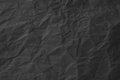 Black paper texture Royalty Free Stock Photo