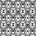Black patterns Royalty Free Stock Image
