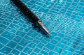 Black Pen On Adstract Background. Royalty Free Stock Photo