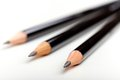 Black pencils Stock Image