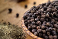 Black pepper macro soft focus Royalty Free Stock Photography