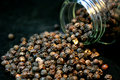 Black Peppercorn Stock Images