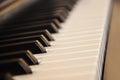 Black piano Royalty Free Stock Photo