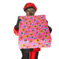 Black Piet from Holland Royalty Free Stock Photo