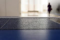 Black Ping Pong Tabletennis Net Royalty Free Stock Photo