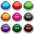 Black pinhole glasses set 9 collection