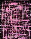 Black and Pink Grunge Background Stock Photo